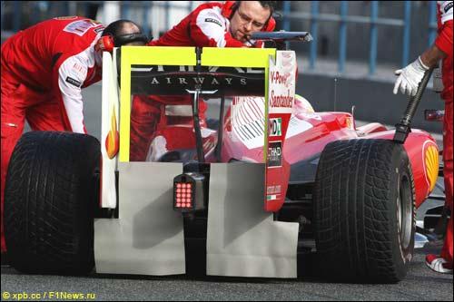 Ferrari F10 с закрытым диффузором