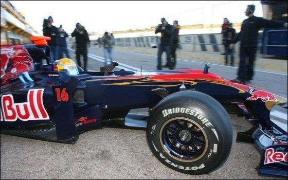 Toro Rosso STR5. Февраль 2010, тесты