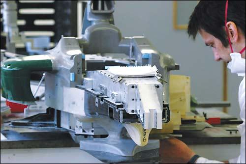 Изготовление модели болида Формулы 1