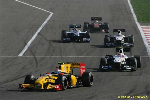 Виталий Петров. Гран При Бахрейна 2010
